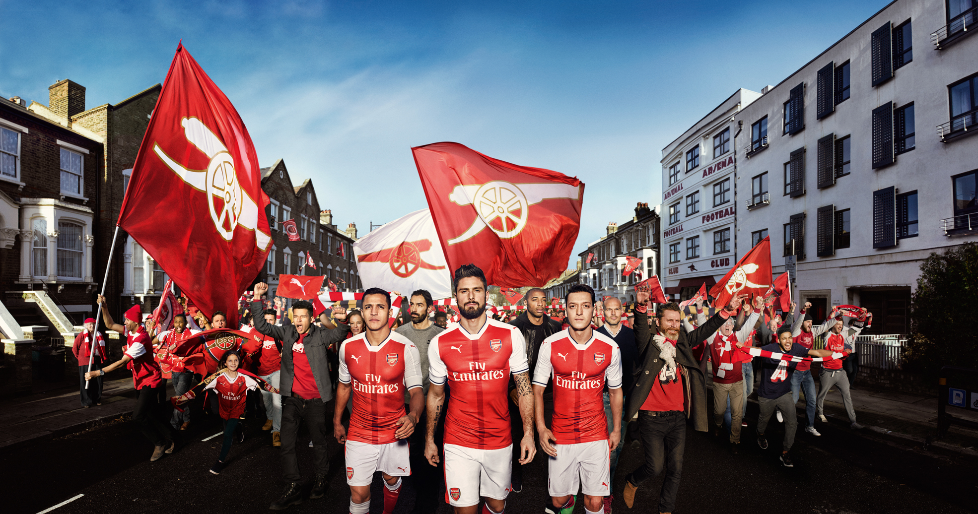 We are the Arsenal x PUMA