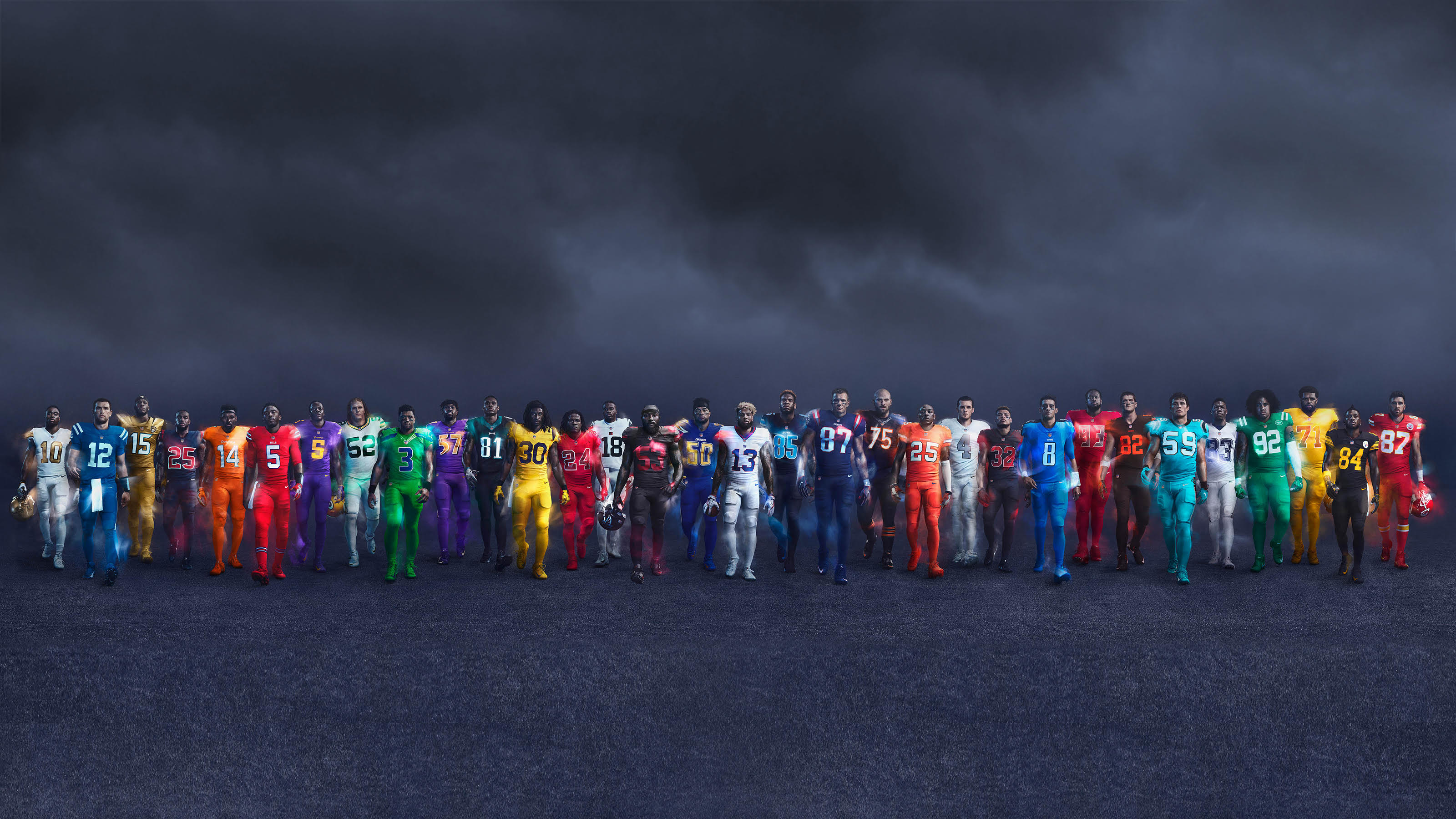 NFL Nike Color Rush 2016
