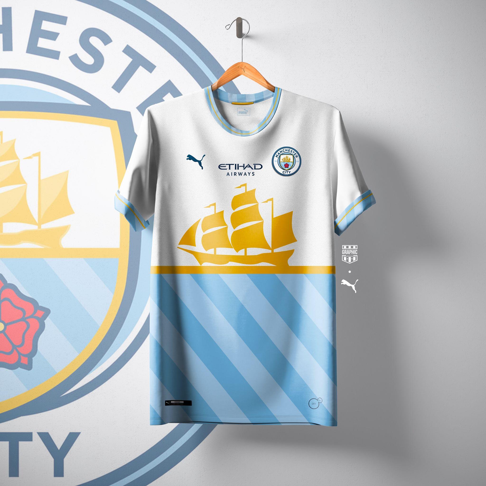 Nos maillots PUMA pour Manchester City